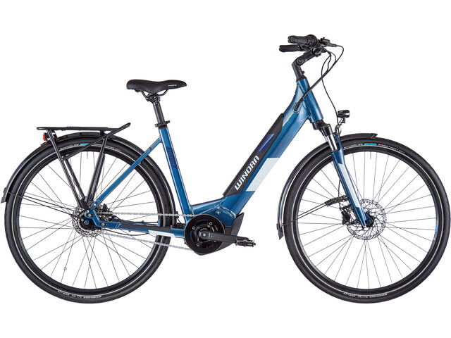 Winora Yucatan iN7f Monotube, modern blue